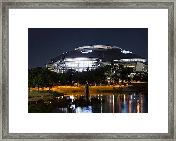 Dallas Cowboys Stadium 1016 Framed Print