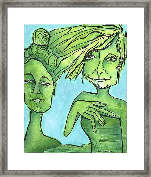 Attachment Theory Framed Print