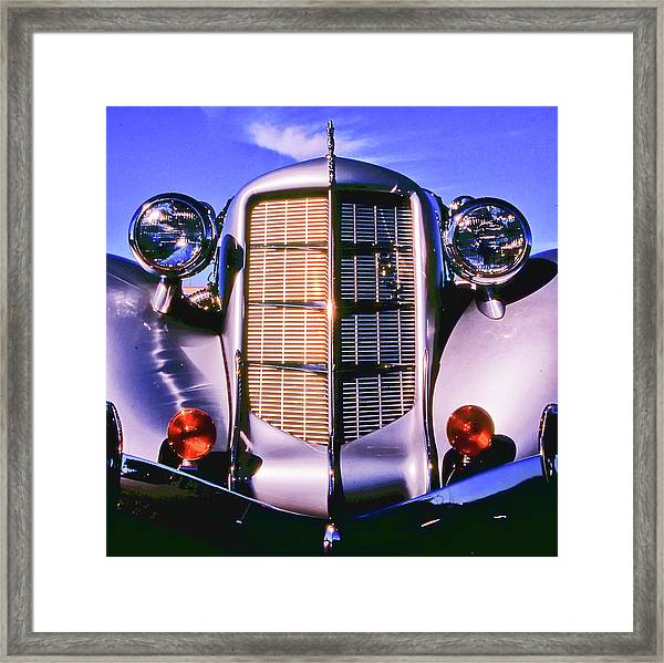 Framed Print featuring the photograph Auburn 852 Boattail Speedster by Samuel M Purvis III