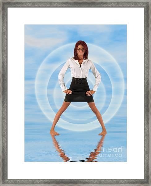 Audrey Michelle 2030101 Framed Print