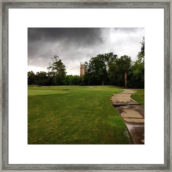 Audubon #jj_louisiana #louisiana #rain Framed Print