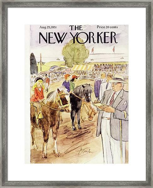 August 25 1951 Framed Print