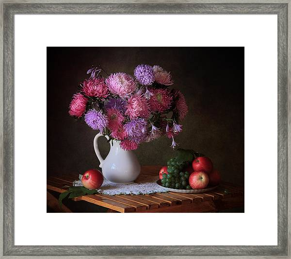 August Gifts Of The Garden Framed Print