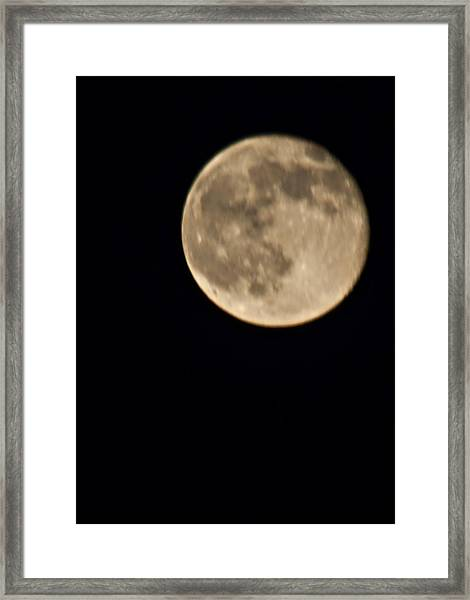 August Moon Framed Print by Bill Perry