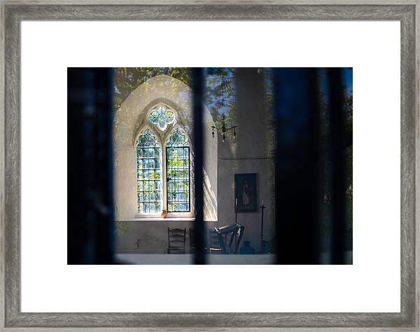 Augustinian Reflection Framed Print