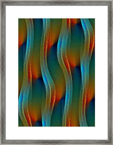 Aurora Oil Framed Print