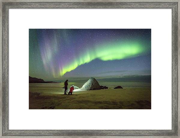 Aurora Photographers Framed Print