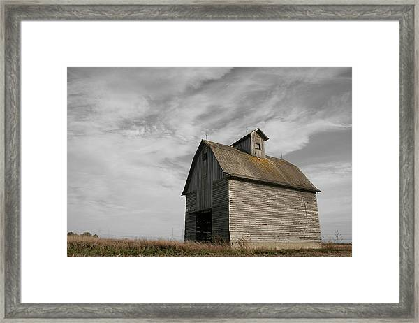 Framed Print featuring the photograph Austerity by Dylan Punke