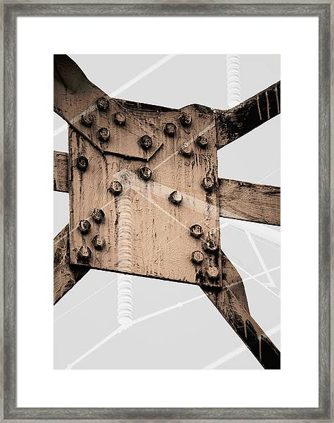 Austerity Of Form Framed Print