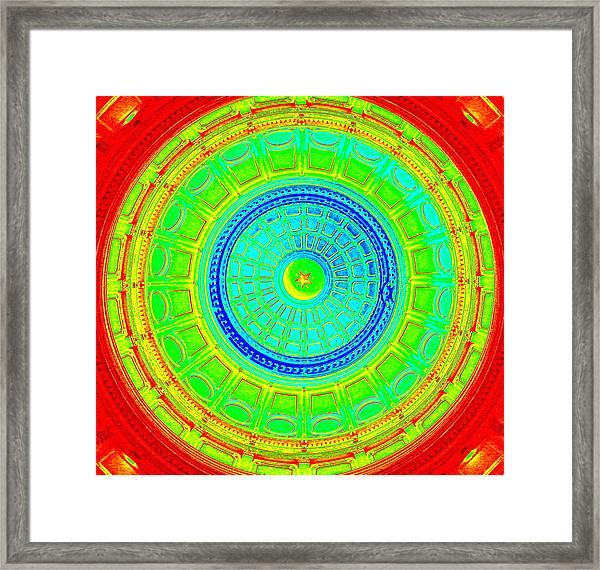 Austin Capitol Dome - 2 Framed Print