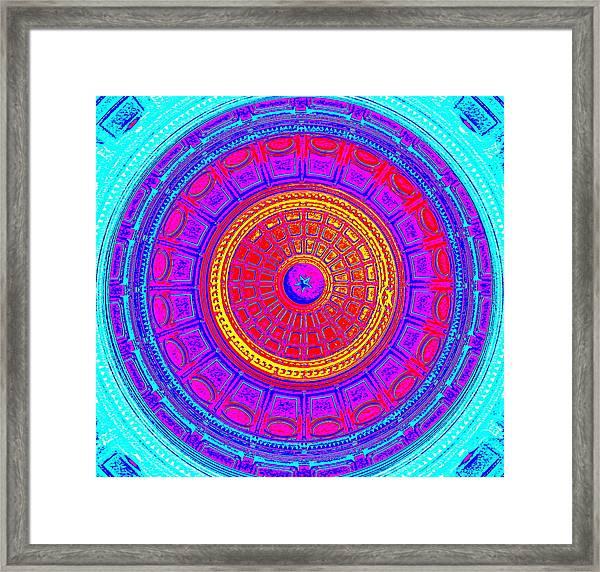 Austin Capitol Dome - 4 Framed Print