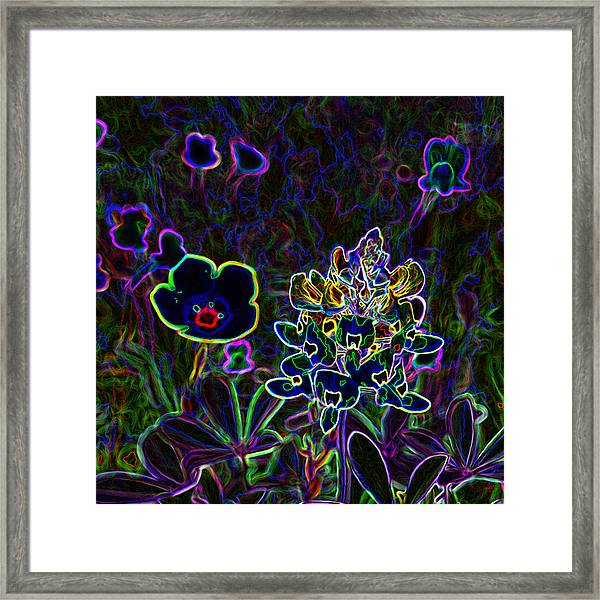 Austin Flowers After The Party Framed Print