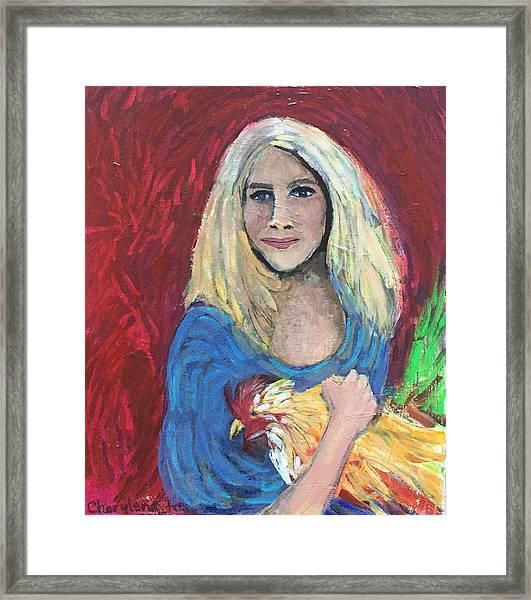 Austin Girl Framed Print