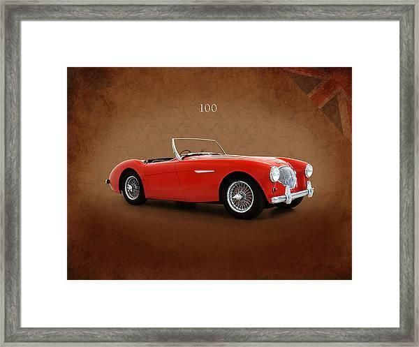 Austin Healey 100 1955 Framed Print
