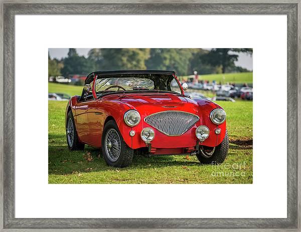 Austin Healey 100 Framed Print