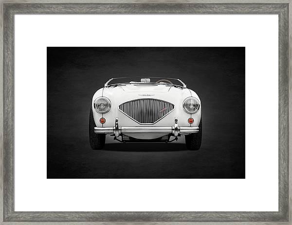 Austin Healey 100 Le Mans Framed Print