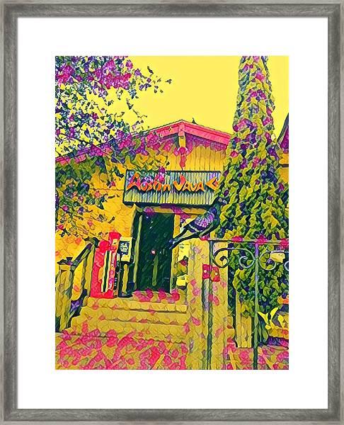 Austin Java Electric Framed Print