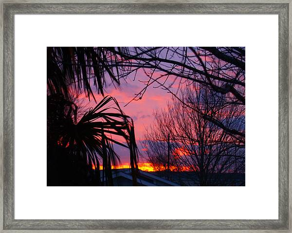 Austin Sunset I Framed Print