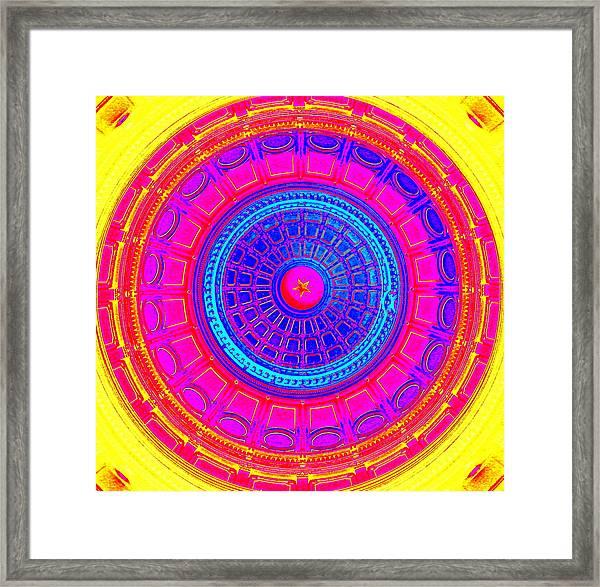 Austin Capitol Dome - 1 Framed Print