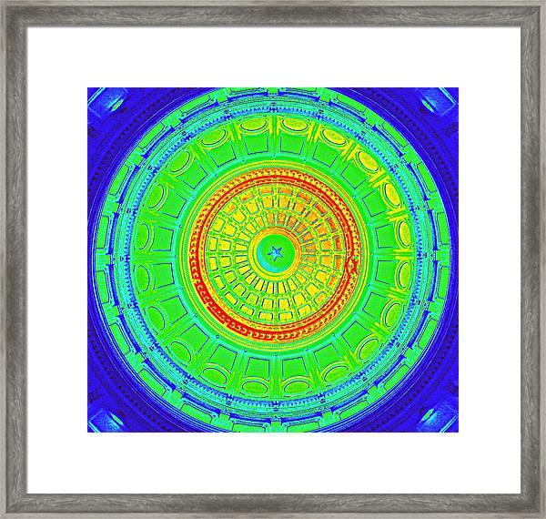 Austin Capitol Dome - 3 Framed Print