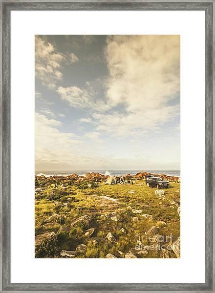 Australian Exploration Framed Print
