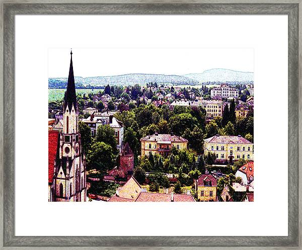 Austria Views 1 Framed Print