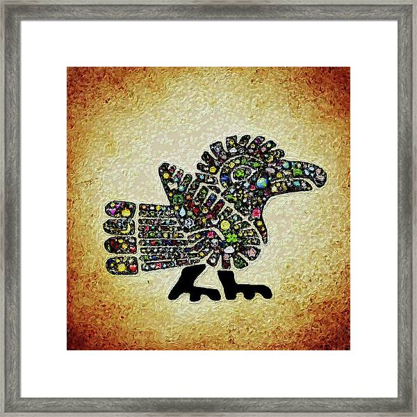 Authentic Aztec Wall Art Framed Print