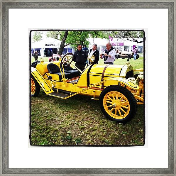 Auto Antiguo #car #classiccars Framed Print