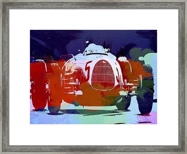 Autounion  Framed Print
