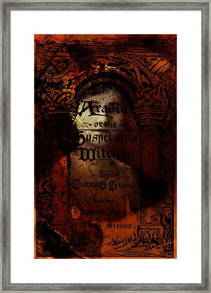 Autumn Aradia Witches Gospel Framed Print