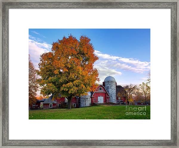 Autumn At Lusscroft Farm Framed Print