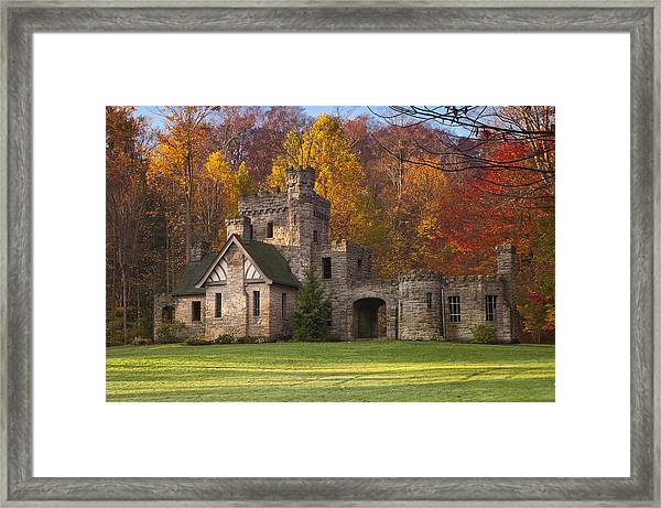 Autumn At Squire's Castle 1 Framed Print