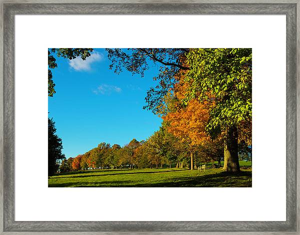 Autumn At World's End Framed Print