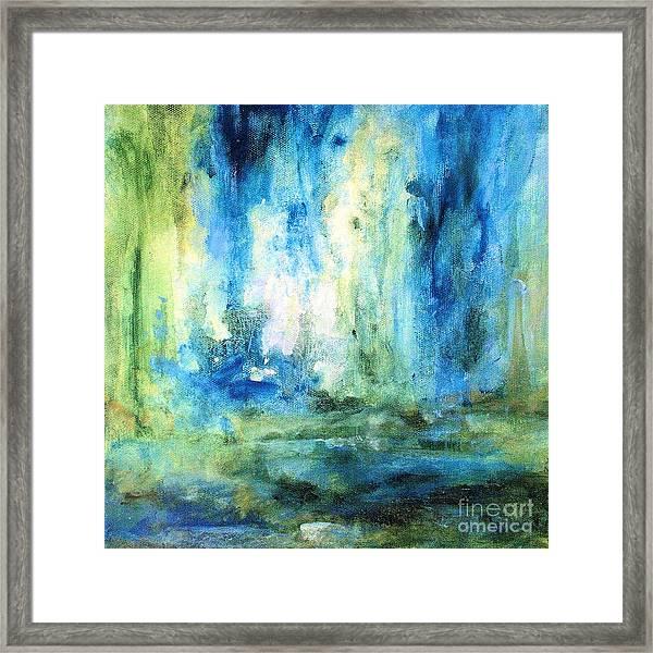 Spring Rain  Framed Print