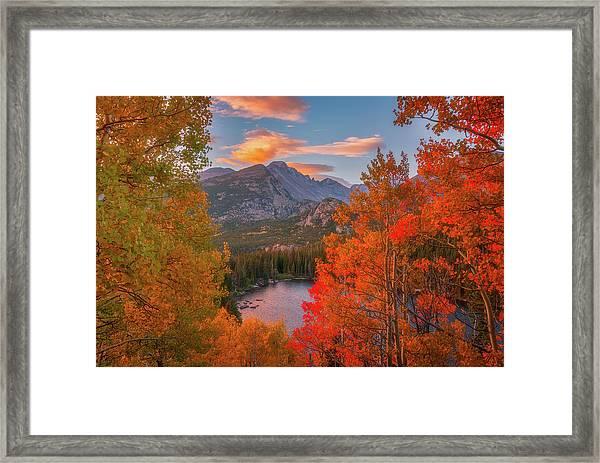 Autumn's Breath Framed Print