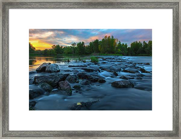 Autumn Comes Framed Print