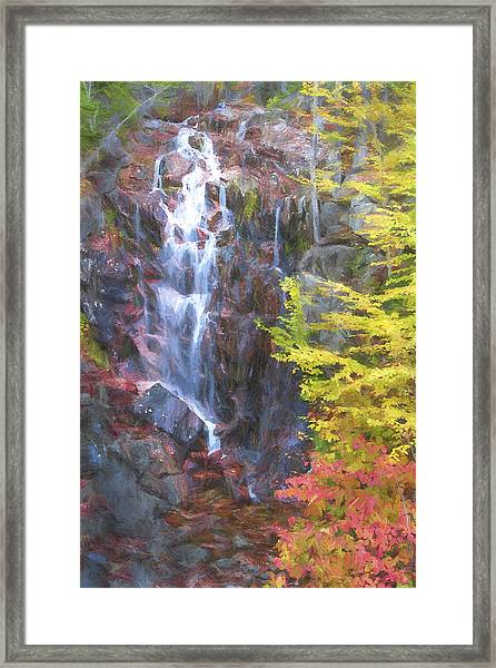 Autumn Falls Away II Framed Print by Jon Glaser