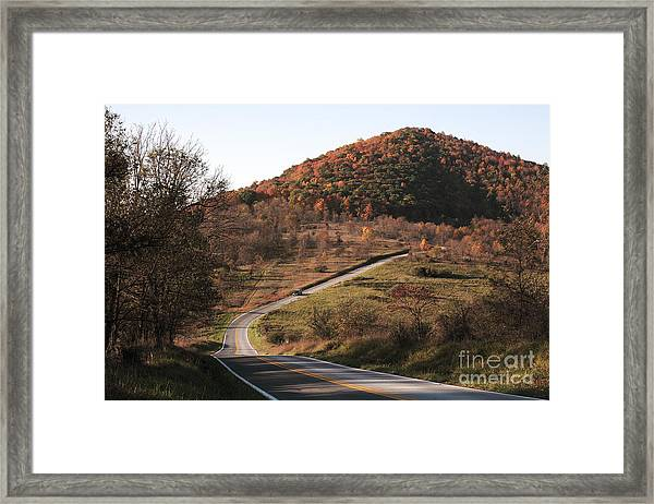 Autumn Hill Near Hancock Maryland Framed Print
