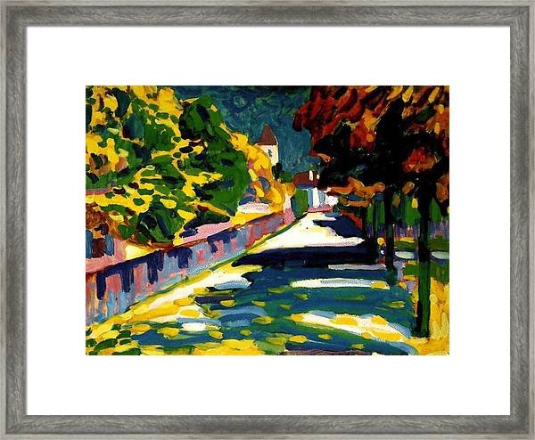 Autumn In Bavaria Framed Print