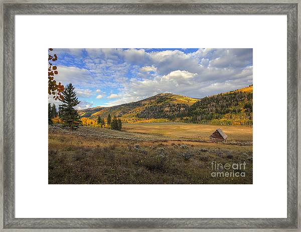 Autumn In Joe's Valley Framed Print