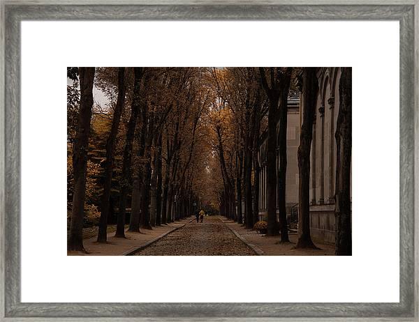 Autumn In Paris 1 Framed Print