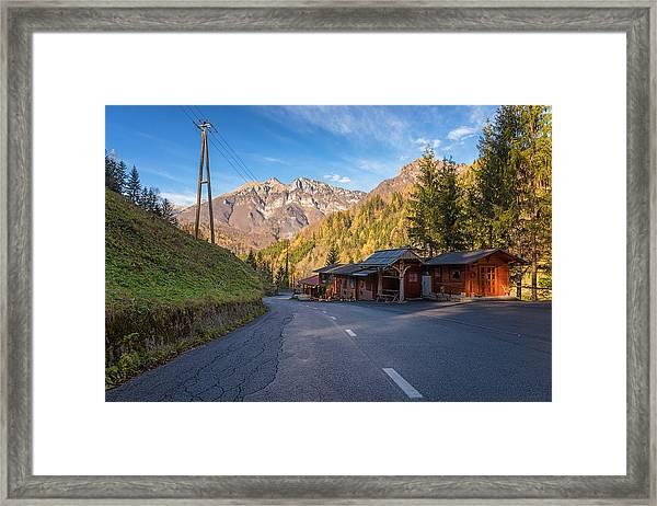 Autumn In Slovenia Framed Print