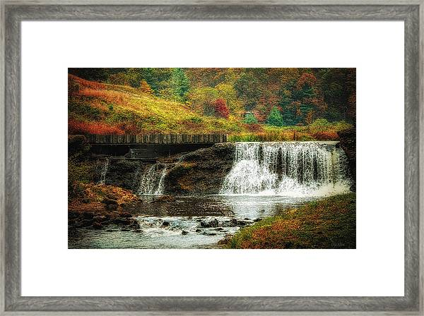 Autumn In The Blue Ridge Mountains Framed Print