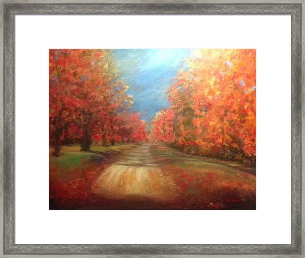 Autumn Dream Framed Print
