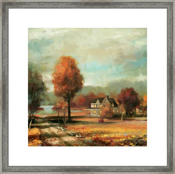 Autumn Memories Framed Print