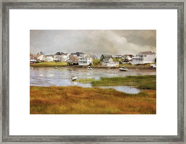 Autumn On The Basin Framed Print
