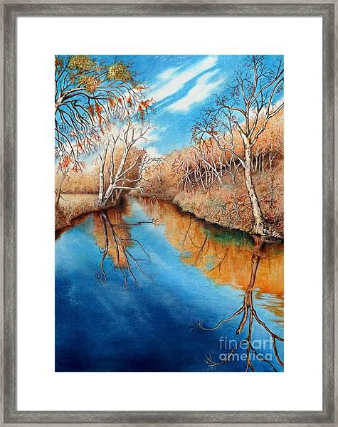Autumn On The Elkhorn Framed Print