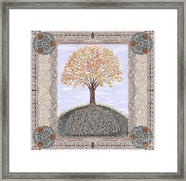 Autumn Tree Of Life Framed Print