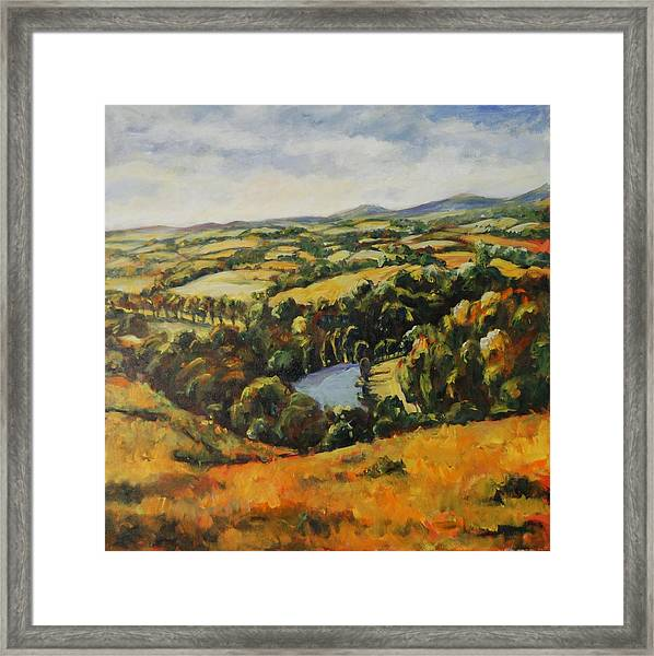 Autumn Vista Framed Print
