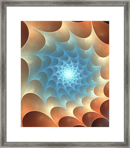 Autumn Web Framed Print